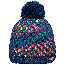 Buy Barts Max Beanie Hat, One Size, Navy Online at johnlewis.com