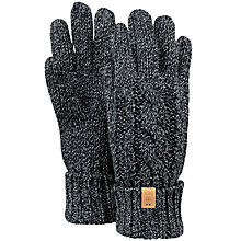 Buy Barts Twister Gloves, One Size, Black Online at johnlewis.com
