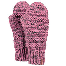 Buy Barts Jasmin Mittens, One Size, Azalea Online at johnlewis.com