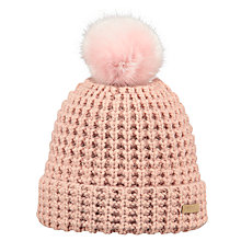 Buy Barts Bonnie Bloom Beanie, One Size, Pink Online at johnlewis.com