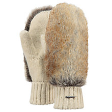 Buy Barts Amaranth Gloves, One Size, Beige/Cream Online at johnlewis.com