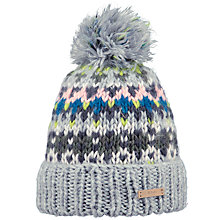 Buy Barts Leitha Beanie, One Size, Heather Grey/Multi Online at johnlewis.com