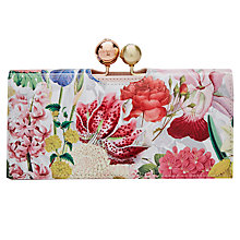 Buy Ted Baker Myrar Floral Print Matinee Purse, Ivory Online at johnlewis.com