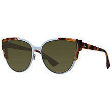 Buy Christian Dior Wildlydior Cat's Eye Sunglasses Online at johnlewis.com