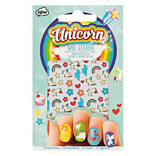 Buy NPW Unicorn Nail Stickers, Multi Online at johnlewis.com