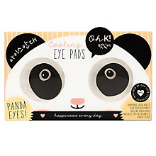 Buy NPW Girls' Beauty Eye Pads Soko Panda Online at johnlewis.com