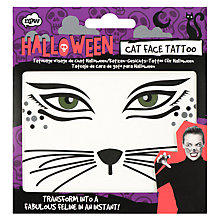 Buy NPW Girls' Temporary Cat Face Tattoo Online at johnlewis.com