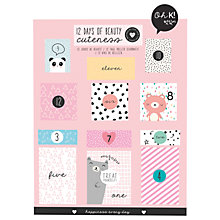 Buy NPW Oh K Twelve Day Beauty Advent Calendar Online at johnlewis.com