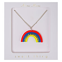 Buy Meri Meri Rainbow Necklace, Multi Online at johnlewis.com