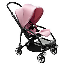 Buy Bugaboo Bee 3 Modern Pastel Pushchair, Soft Pink Online at johnlewis.com