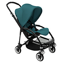 Buy Bugaboo Bee 3 Modern Pastel Pushchair, Petrol Blue Online at johnlewis.com