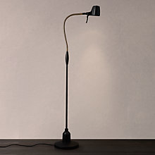 Buy Serious Readers High Definition Floor Lamp, Black / Antique Brass Online at johnlewis.com
