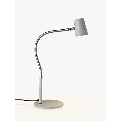 Serious Readers Alex LED Table Lamp, White/Nickel