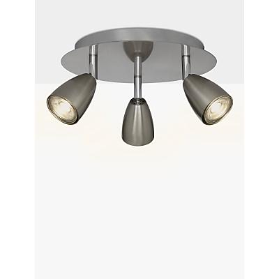 John Lewis Thea GU10 LED Spotlight, 3 Plate