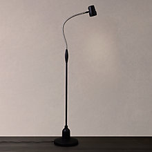 Buy Serious Readers Alex Rechargeable Halogen Floor Lamp, Black / Nickel Online at johnlewis.com