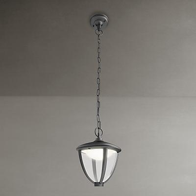 Philips Robin Outdoor Lantern Ceiling Light, Black