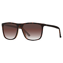 Buy Gucci GG 1132/S Square Sunglasses, Tortoise/Brown Gradient Online at johnlewis.com