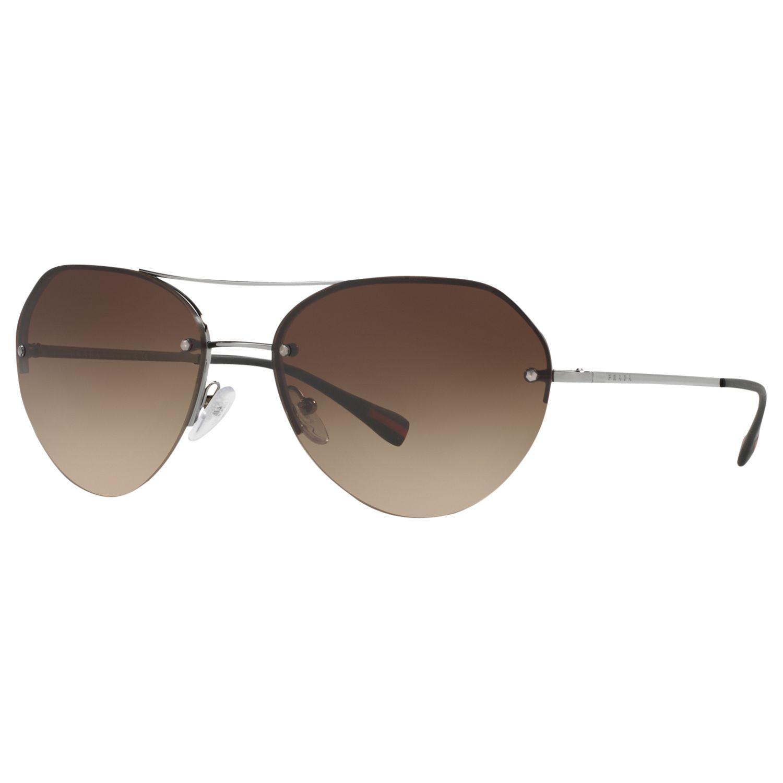 Prada Linea Rossa Prada Linea Rossa PS 57RS Oval Sunglasses