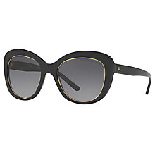 Buy Ralph Lauren RL8149 Polarised Cat's Eye Sunglasses, Black Online at johnlewis.com