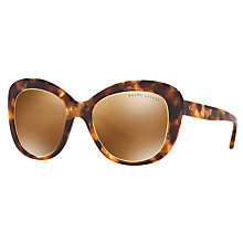 Buy Ralph Lauren RL8149 Cat's Eye Sunglasses, Tortoise Online at johnlewis.com