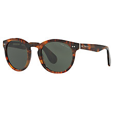 Buy Ralph Lauren RL8146 Oval Sunglasses, Tortoise Online at johnlewis.com