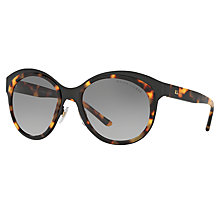 Buy Ralph Lauren RL7051 Oval Sunglasses, Black Havana Online at johnlewis.com