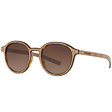 Buy Giorgio Armani AR8081 Oval Sunglasses Online at johnlewis.com