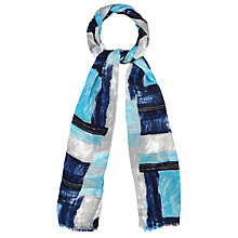 Buy Phase Eight Bella Brushstroke Scarf, Multi Online at johnlewis.com