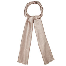 Buy Phase Eight Verity Scarf, Oyster Online at johnlewis.com
