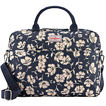 Buy Cath Kidston Mono Poppies Laptop Bag, Blue Online at johnlewis.com