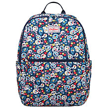 Buy Cath Kidston Mini Paisley Foldaway Backpack, Navy Online at johnlewis.com