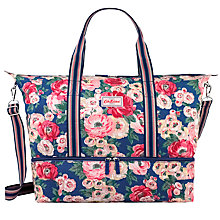 Buy Cath Kidston Mini Paisley Foldaway Bag, Navy Online at johnlewis.com