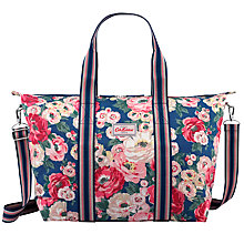 Buy Cath Kidston Worth Bunch Overnight Bag, Navy Online at johnlewis.com