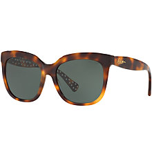 Buy Ralph Lauren RA5213 Square Sunglasses, Tortoise Online at johnlewis.com