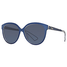 Buy Christian Dior Diorama2 Oval Sunglasses Online at johnlewis.com