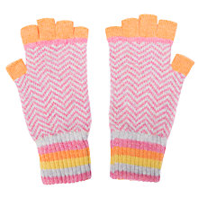 Buy Green Thomas Chevron Fingerless Gloves Online at johnlewis.com