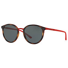 Buy Polo Ralph Lauren PH3104 Oval Sunglasses Online at johnlewis.com