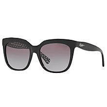 Buy Ralph Lauren RA5213 Square Sunglasses, Black Online at johnlewis.com