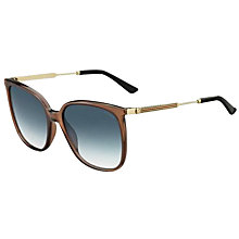 Buy Gucci GG 3845/S Square Sunglasses Online at johnlewis.com