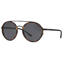 Buy Polo Ralph Lauren PH3103 Round Sunglasses Online at johnlewis.com