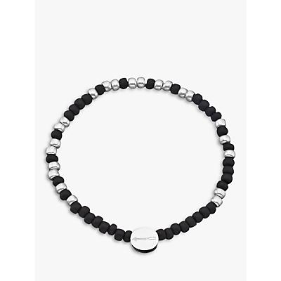 Under the Rose Morse Code '21st' Bead Bracelet