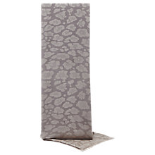Buy Reiss Higgins Leopard Print Woven Scarf Online at johnlewis.com
