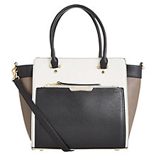 Buy Oasis Tilly Colour Block Tote Bag, Multi Online at johnlewis.com