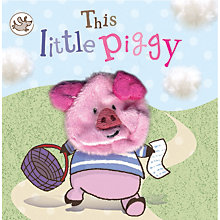 Buy This Little Piggy Puppet Children's Board Book Online at johnlewis.com