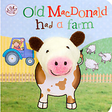 Buy Old Macdonald Had A Farm Puppet  Children's Board Book Online at johnlewis.com