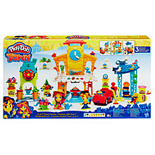 Buy Play-Doh 3 In 1 Town Centre Playset Online at johnlewis.com