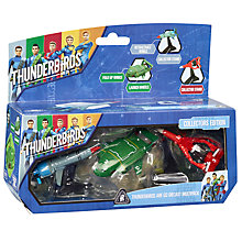 Buy Thunderbirds Are Go Diecast Vehicle Multipack Collectors Edition Pack Online at johnlewis.com