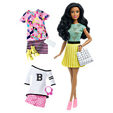 Buy Barbie Fashionistas B-Fabulous Doll and Outfit Pack Online at johnlewis.com
