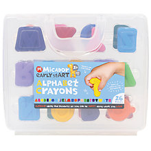 Buy Micador Early Start Alphabet Crayons Online at johnlewis.com