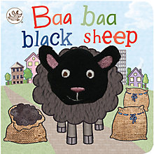 Buy Baa Baa Black Sheep Puppet  Children's Board Book Online at johnlewis.com